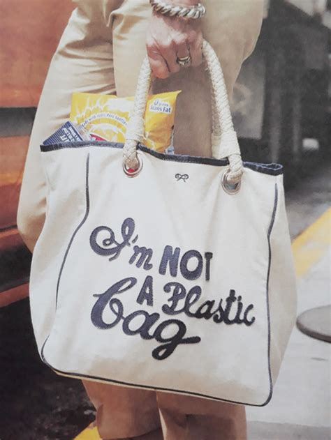 Im Not A Plastic Bag Im A Personalised Photo Bag By Anya Hindmarch by Anya Hindmarch I M Not A Plastic Bag 2007 Welcome To