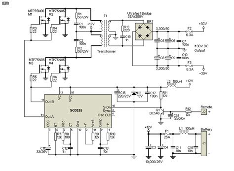 Switchmode Power Supply For Car Audio