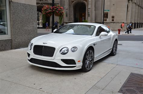 bentley coupe 2016 white 2016 bentley continental gt speed used bentley used