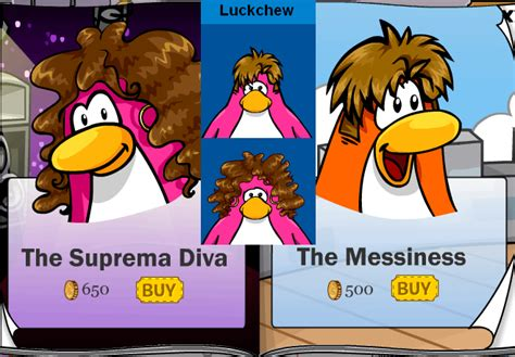 wig codes club penguin club penguin wigs rockout with luckchew and the penguin gang