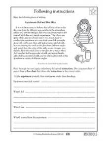 free printable 5th grade reading worksheets word lists
