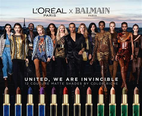 Loreal Balmain l oreal x balmain lipstick available for pre order