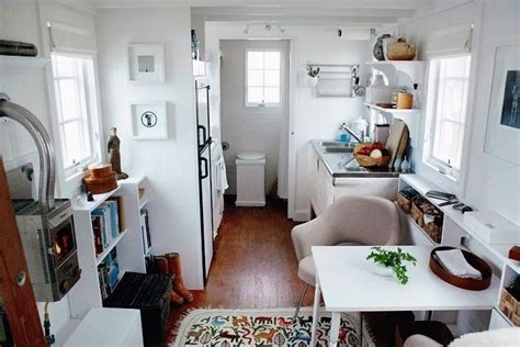 mobile home interior design inside a small travel trailer cing