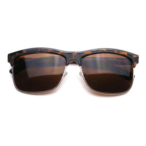 Half Sunglasses ban half frame sunglasses
