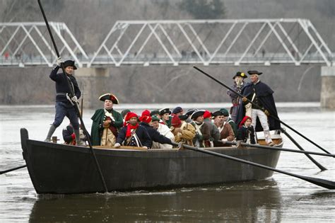 george washington on boat let s go holiday edition the a list