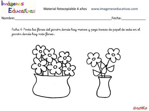 imagenes de mas que y menos que cuadernillo 40 actividades eduaci 243 n preescolar 4 a 241 os