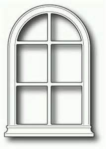 Window Templates by Arched Window Cards Poppyst Memory Box