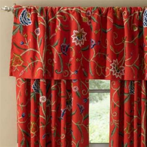 crewel fabric curtains 39 best images about crewel curtains panels on pinterest