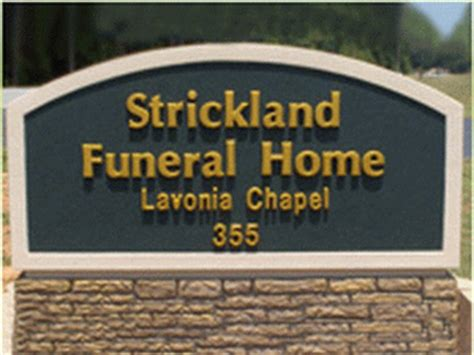 joseph a strickland funeral homes of lavonia lavonia