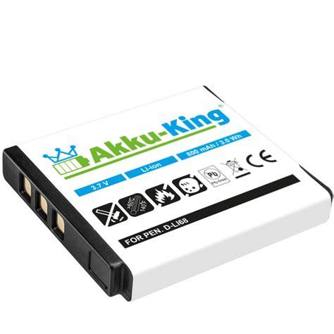 Baterai Kamera Pentax D Li68 Fujifilm Np 50 Np 50a Kodak Ce05hy Black akku king akku kompatibel zu fujifilm x10 xf1 xp100 kodak m1033 v1253 ersetzt klic 7004