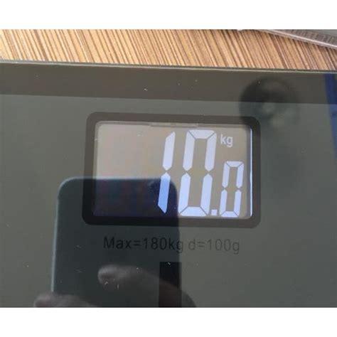 Timbangan Berat Badan Kaca timbangan badan kaca elektronik 180kg taffware sc 05