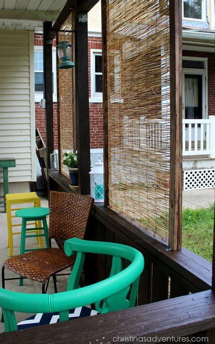 diy bamboo privacy screen privacy screen outdoor
