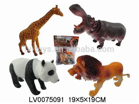 Animal Playmate Limited plastic animal hippo giraffe panda toys set for buy animal plastic
