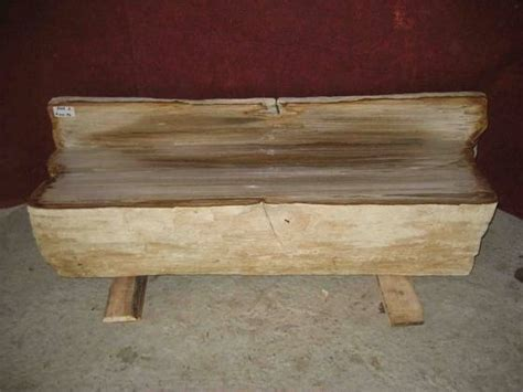 petrified wood bench petrified wood bench diy woodworking projects