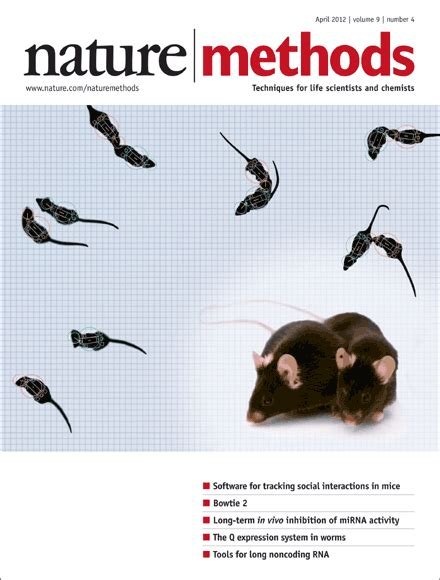 design methods journal about the cover nature methods