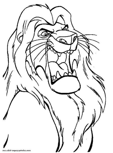 Free Coloring Pages Of Mufasa And Nala Mufasa Coloring Pages