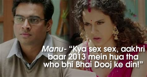 epic film dialogues these 9 epic dialogues from tanu weds manu returns will