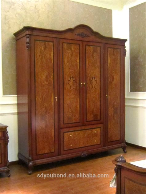 0051 american style wooden wardrobe designs antique