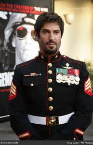 dress blues to a funeral on irr usmc