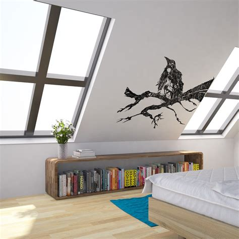 blackbird vinyl wall art sticker  george birch vinyl