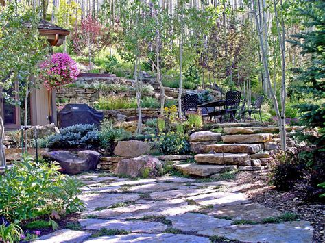 Hillside Patio by Siloam Gallery Recent Projects Colorado Quarry