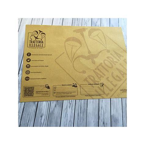 carta gialla per alimenti sta tovagliette su carta paglia per ristoranti e pizzerie