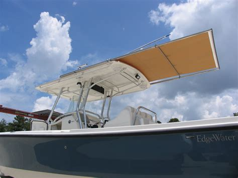 edgewater vs everglades boats a natural shade extension for fishing boats sureshade
