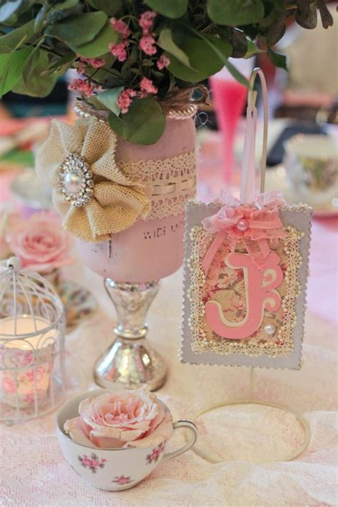 shabby chic baby shower supplies the most jar vases shabby chic shower ideas