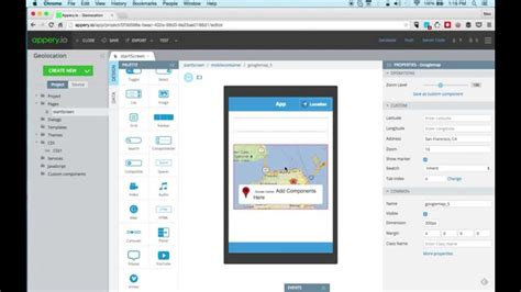 build a mobile app for free build a mobile app with geolocation and maps in 5