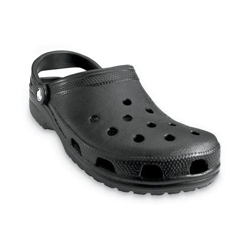crocs shoes crocs classic shoe black original crocs slip on shoe