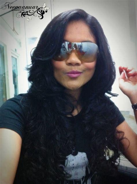 perm rambut fesyen rambut curl