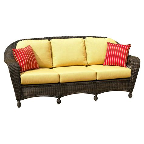 wicker bench cushions wicker sofa replacement cushions lloyd flanders oxford