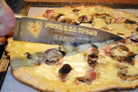 recette de cuisine am駻icaine plancha pizza cr 232 me chignons et noix kaderick