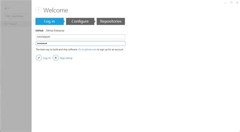 github login tutorial how to use github com on windows free online tutorials