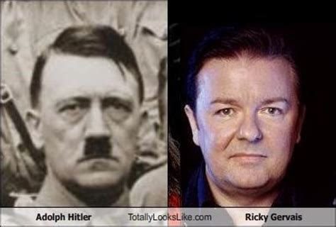 rick bruno stanley adolf and ricky gervais dopplegangers look