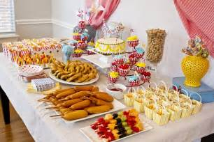 birthday buffet circus themed nurseries and project nursery