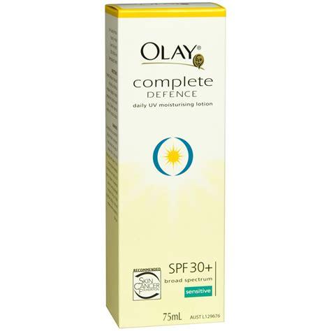 Olay Spf 30 olay complete defence moisturising lotion 75ml sensitive