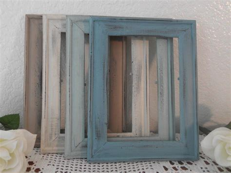 rustic shabby chic block frame picture holder home beach wedding frame rustic shabby chic distressed 5 x 7