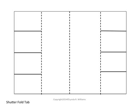 foldable booklet template teaching science with lynda freebies