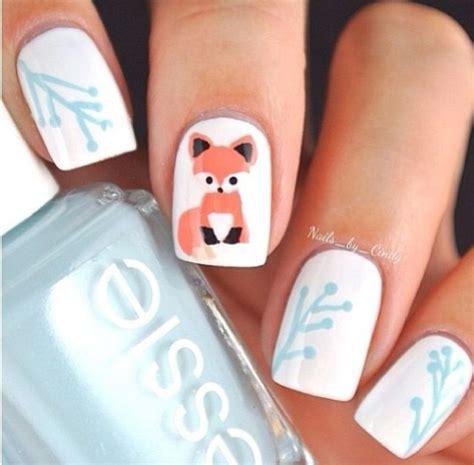 Fox Nail fox nail design nails d