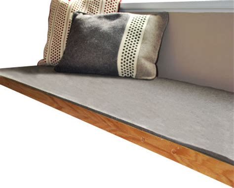 72 inch bench cushion felt bench cushion natural gray natural gray 18 5
