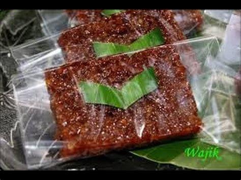 membuat kue wajik reaep membuat kue wajik gula merah legit tidak lengket
