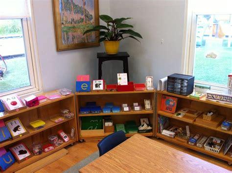 montessori bookshelves 46 best montessori shelves language images on