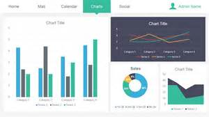 dashboard powerpoint template admin dashboard powerpoint template slidemodel