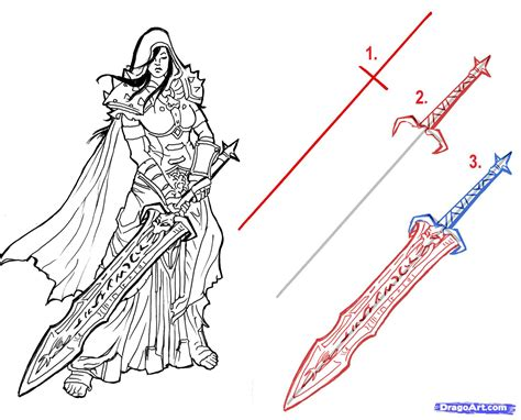 doodle how to make weapon how to draw cool anime swords www pixshark images
