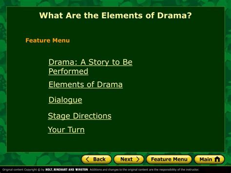 Ppt What Are The Elements Of Drama Powerpoint Drama Powerpoint