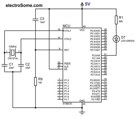 wiring diagram for blinking lights project wiring led