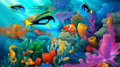 underwater animal world coral reef coral   colors