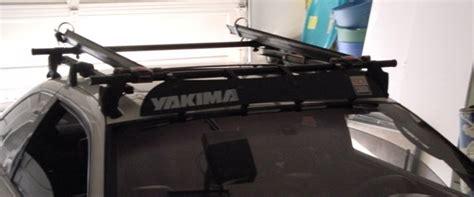 yakima q tower roof rack and 2 bike mounts club lexus forums