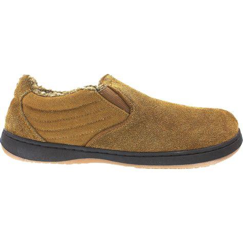 tempur pedic slippers mens tempur pedic jadin chestnut suede s slipper